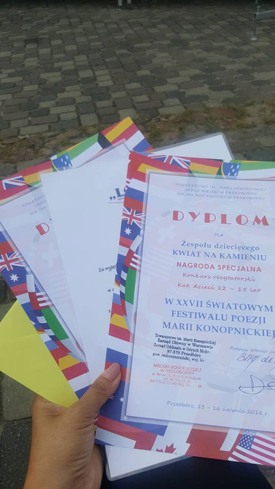 Xxvii światowy Festiwal Poezji Marii Konopnickiej W